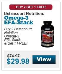 Betancourt Omega-3 EFA Stack