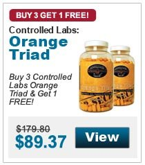 Buy 3 Controlled Labs Orange Triad & Get 1 FREE!