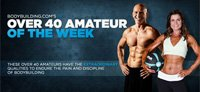 Over 40 Amateurs Of The Week