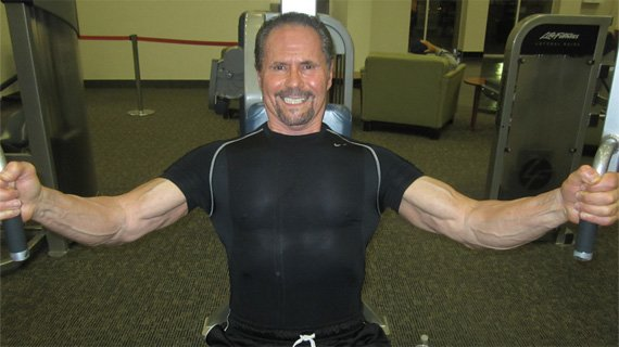 Old shoulder injuries haven't derailed Joe's training train!
