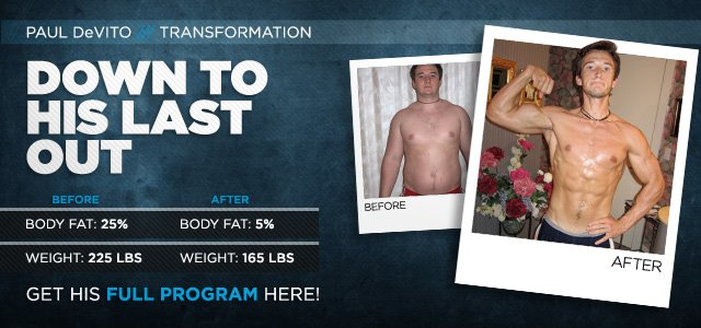 Body Transformation: Down To His Last Out