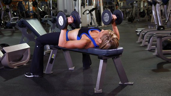 Dumbbells are actually Einstein-smart for people like her.