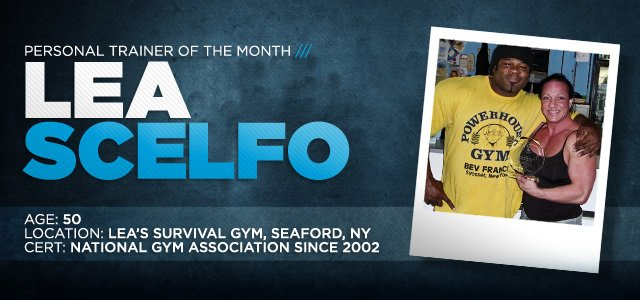 Personal Trainer Of The Month: LeaAnn Scelfo!