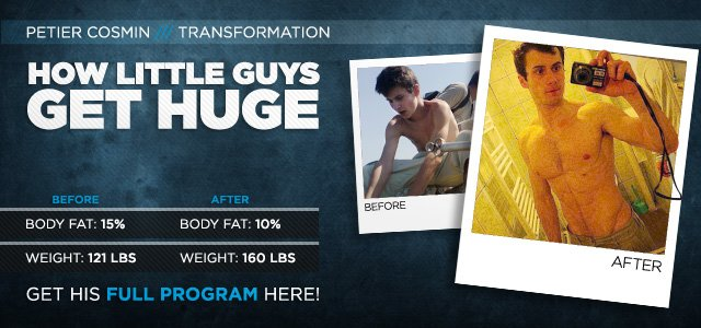 Body Transformation: How Little Guys Get Huge