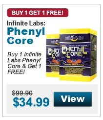 Buy 1 Infinite Labs Phenyl Core & Get 1 FREE!