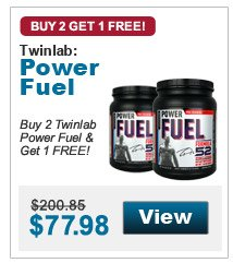 Buy 2 Twinlab Power Fuel & get 1 FREE!