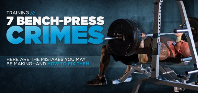 Bench Pressing Mistakes