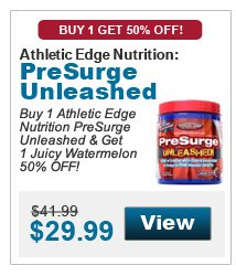 Athletic Edge Nutrition	PreSurge Unleashed