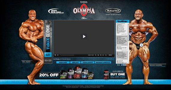 Bodybuilding.com 2012 Olympia Webcast