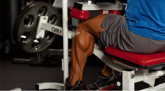 Preston's calves are choice. Yours are probably more like hamburger, but that can change with this freaky workout!