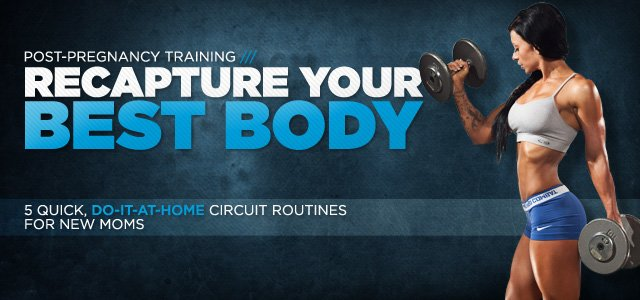 Recapture Your Form: 5 At-Home Post-Pregnancy Circuit Routines!
