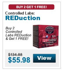 Buy 2 Controlled Labs REDuction & get 1 FREE!