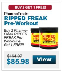 Buy 1 Twinlab Ripped Fuel & get 1 FREE!