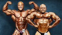 Rise To Royalty: Phil Heath And Branch Warren's Contest History