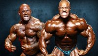 Road To Olympia 2012: Phil Heath Versus Branch Warren