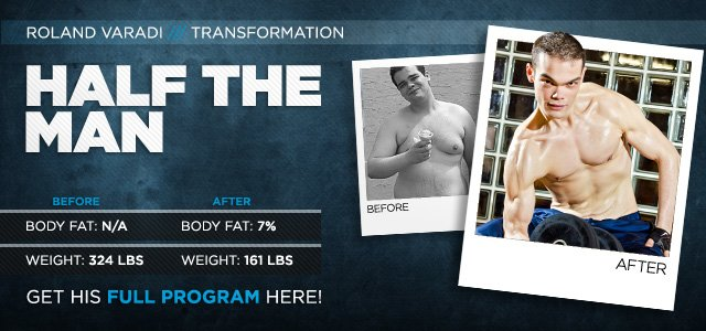 Body Transformation: Half The Man