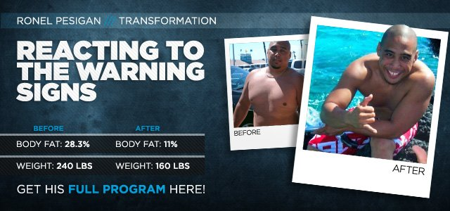 Body Transformation: Reacting To The Warning Signs