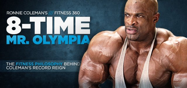 Ronnie Coleman Fitness 360