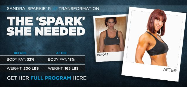 Body Transformation: The 'Spark' She Needed