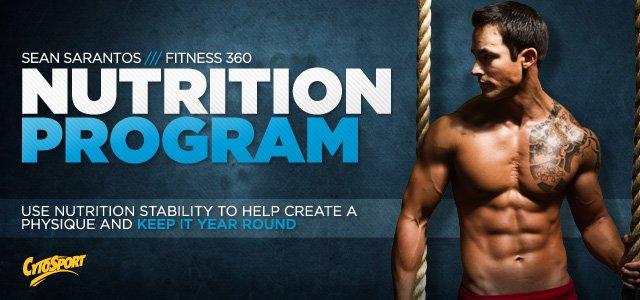 Sean Sarantos Fitness 360: Never Say Die - Nutrition