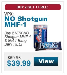 Buy 20VPX NO Shotgun MHF-1 & Get 1 Bang Bar FREE!
