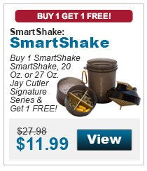 Buy 1 SmartShake SmartShake, 20 Oz. or 27 Oz. Jay Cutler Signature Series & get 1 FREE!
