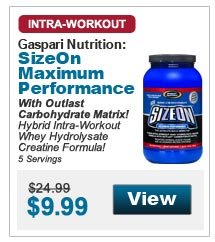 With Outlast Carbohydrate Matrix! Hybrid Intra-Workout Whey Hydrolysate Creatine Formula! 5 Servings