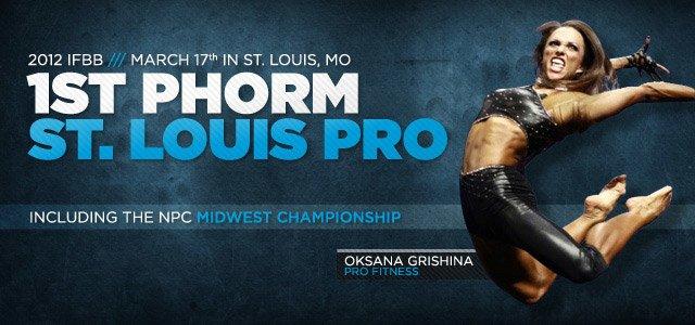 2012 IFBB 1st Phorm St. Louis Pro