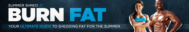 Burn Fat Your Ultimate Guide to Shredding Fat for the Summer