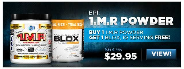 Buy 1 1.M.R Powder, Get 1 Blox, 10 Serving free!