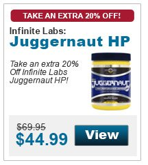 Take an extra 20% off Infinite Labs Juggernaut HP!