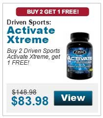 Buy 2 Driven Sports Activate Xtreme, get 1 FREE!