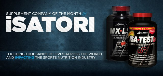 Supplement Company Of The Month: ISatori