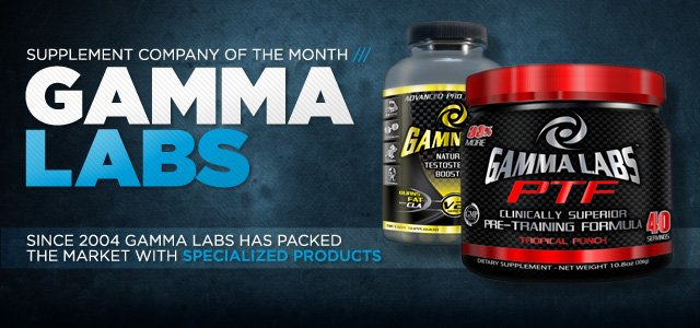 Bodybuilding.com - Supplement Company Of The Month: Gamma Labs