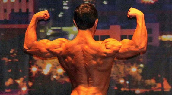 His back shows no signs of weakness.