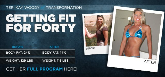 Body Transformation: Getting Fit For Forty