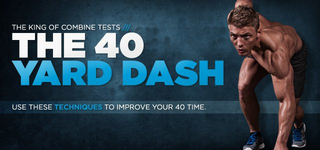 The 40 Yard Dash - The King Of The Combine Tests: Part 1