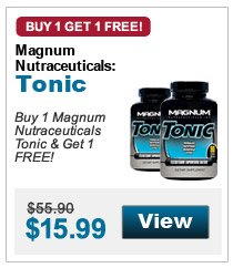 Buy 1 Magnum Nutraceuticals Tonic & Get 1 FREE!