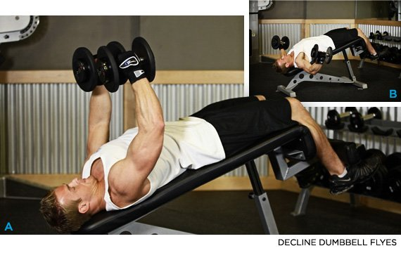 Without Clanking The Dumbbells Push Them Together At Top While Contracting Your Pecs As Forcefully Possible