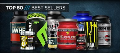 Check Out Our 50 Best Sellers!