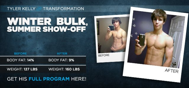Body Transformation: Winter Bulk, Summer Show-off!