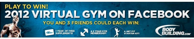 Play To Win! 2012 Virtual Gym On Facebook