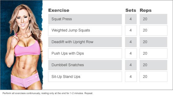 Week 6: JESSICA MAXON'S TOTAL BODY WORKOUT