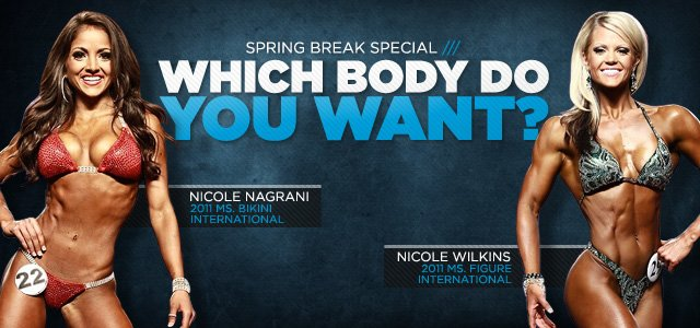 Which Body Do You Want? The figure Nicole's or the bikini Nicole's?