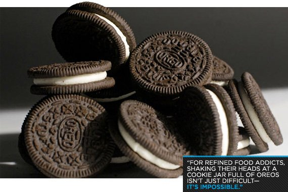 Shaking their heads at a cookie jar full of Oreos isn't just difficult--it's impossible