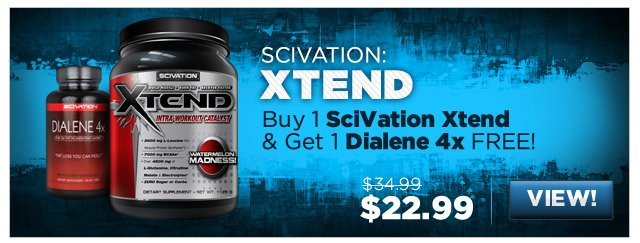 Buy 1 SciVation Xtend & Get 1 Dialene 4x FREE!