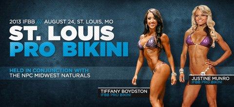 2013 IFBB St. Louis Pro Bikini