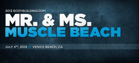 2013 NPC Mr. and Ms. Muscle Beach, 4th of July