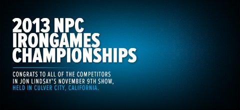 2013 NPC Irongames Championships