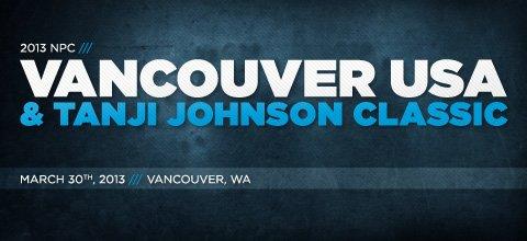 2013 NPC Vancouver USA & Tanji Johnson Classic